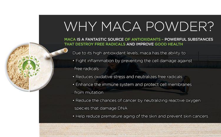 gelatinized maca powder